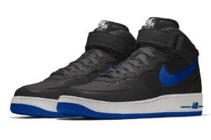 Nike Air Force 1 Heren Zwart Aq3776 992 Zwarte Sneakers Heren