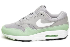 nike-air max 1-heren-zilver-ah8145 015-zilveren-sneakers-heren