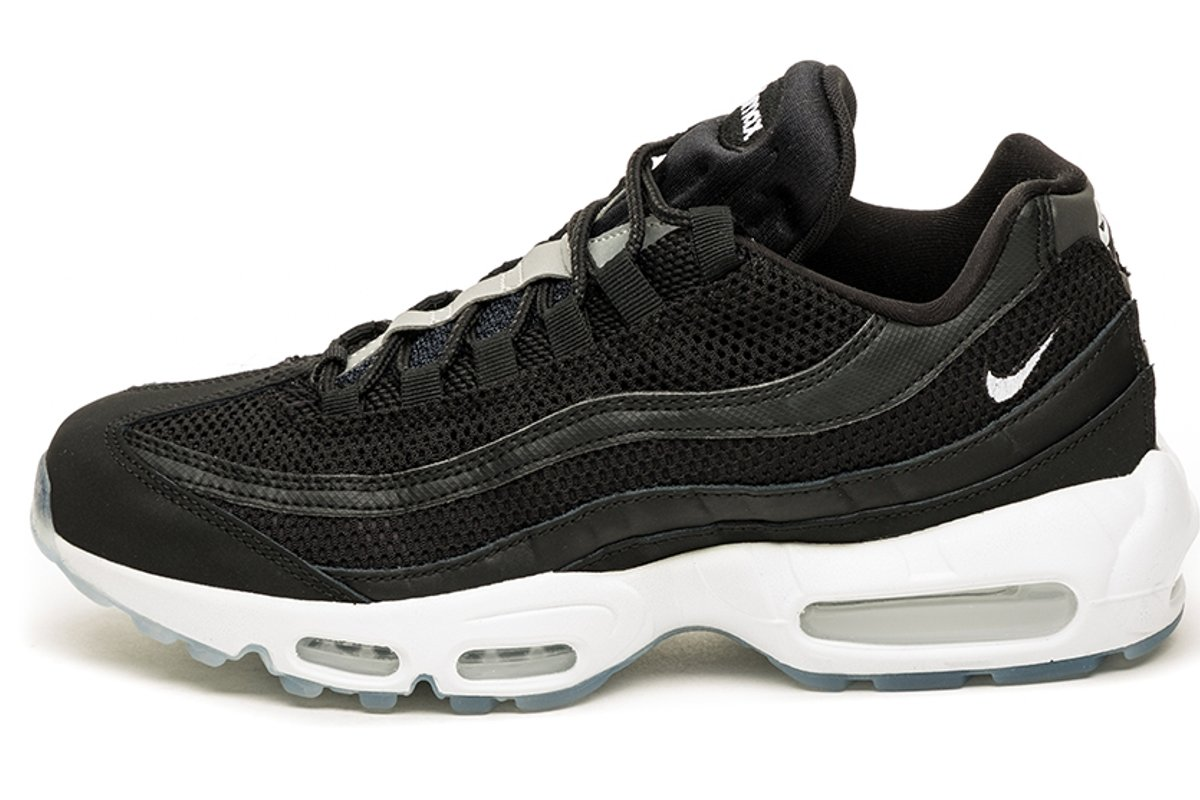 nike air max 95 heren zwart sale
