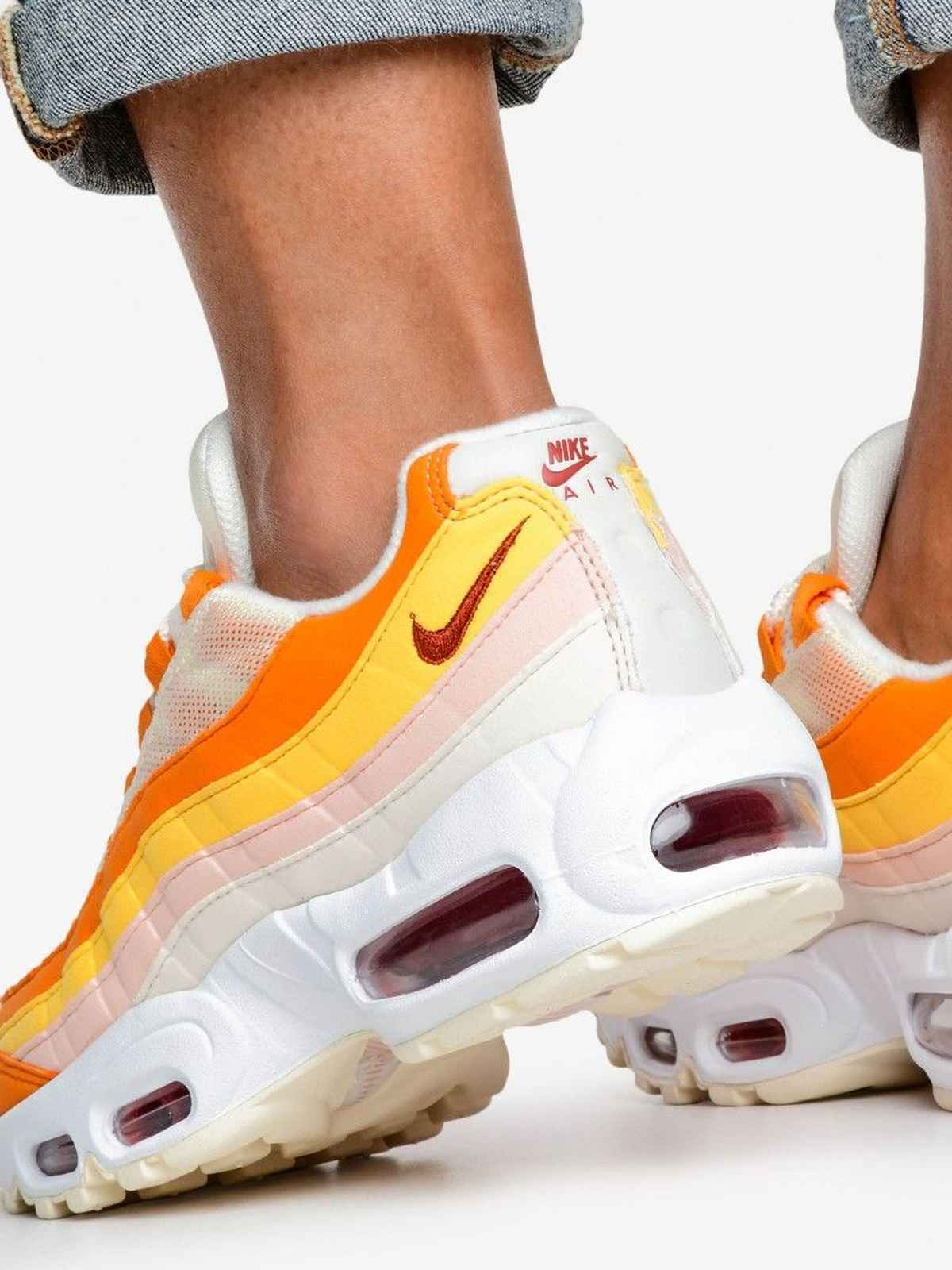 307960 114 Dames Air Max 95 Oranje