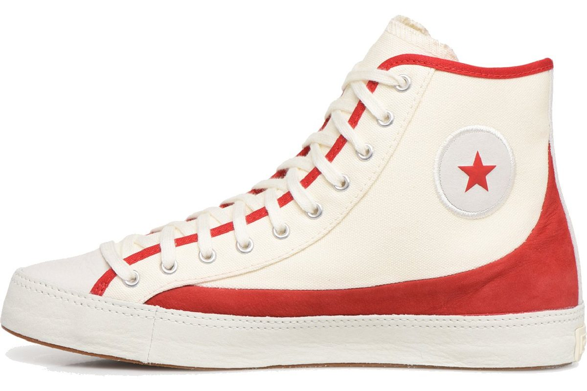 Converse X Sasha Bloom In Season Foundation All Stars Hoog Beige 563503c