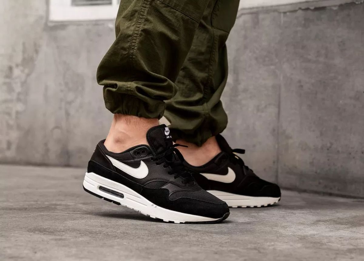 Nike Air Max 1 Zwart Heren Ah8145 014