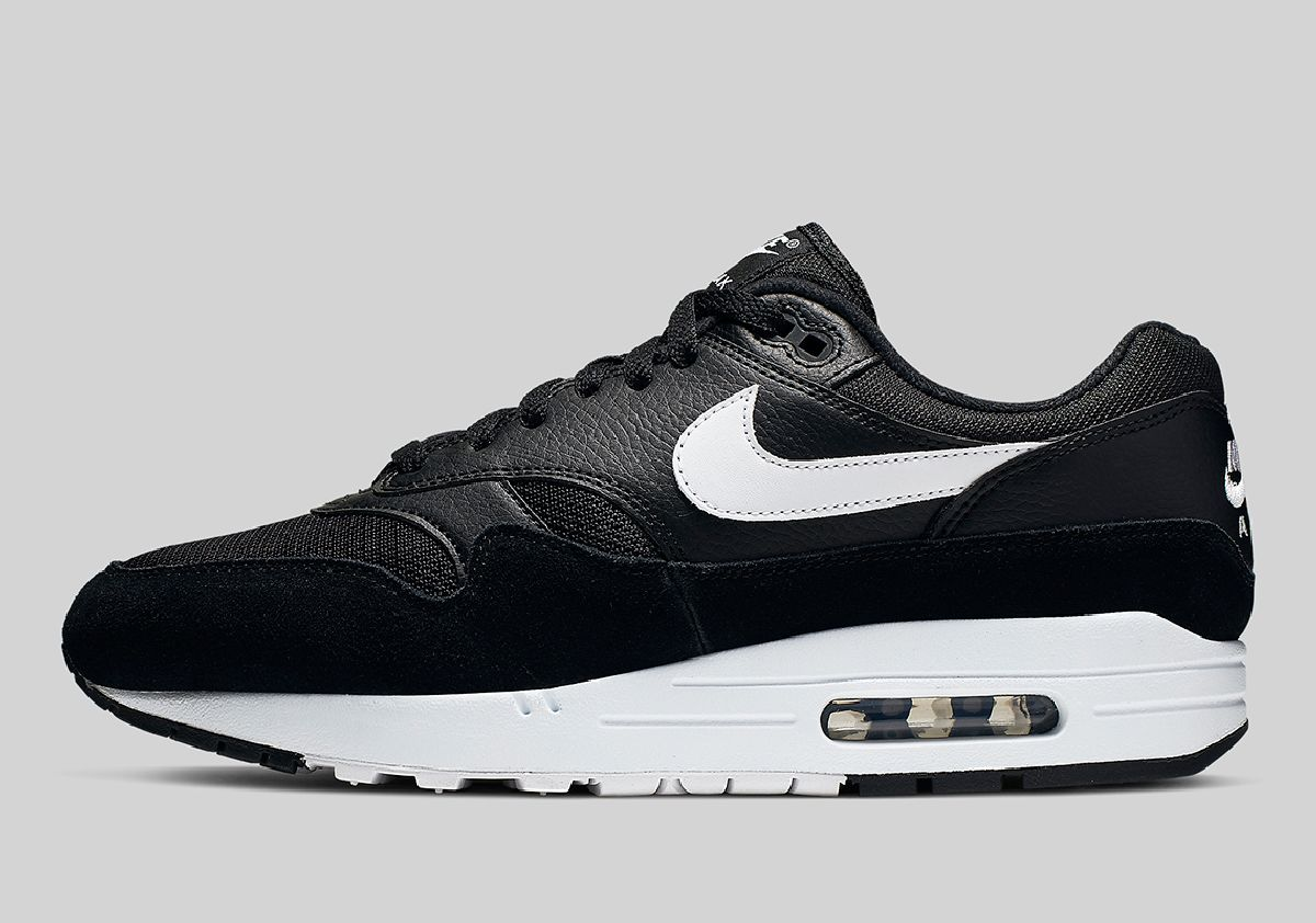 Nike Air Max 1 Zwart Heren Ah8145 014 7