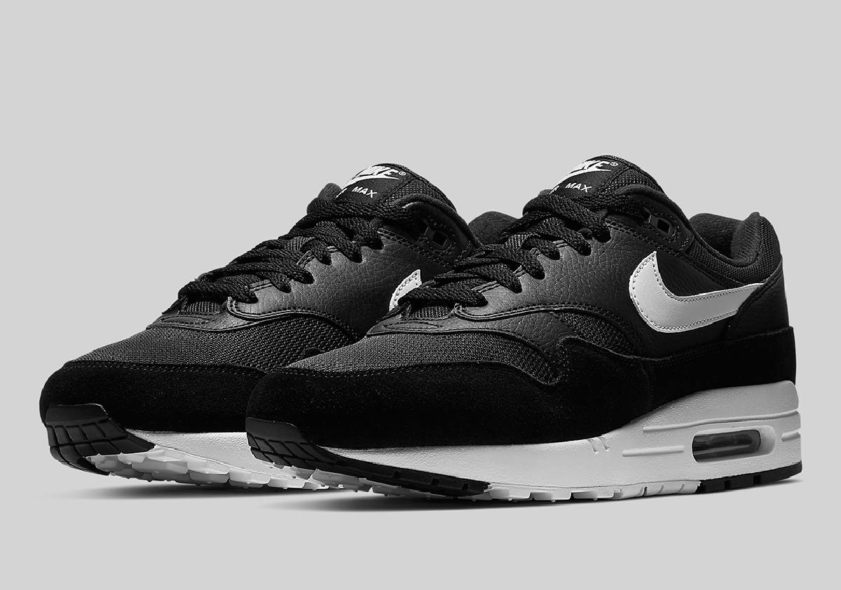 Nike Air Max 1 Zwart Heren Ah8145 014 8
