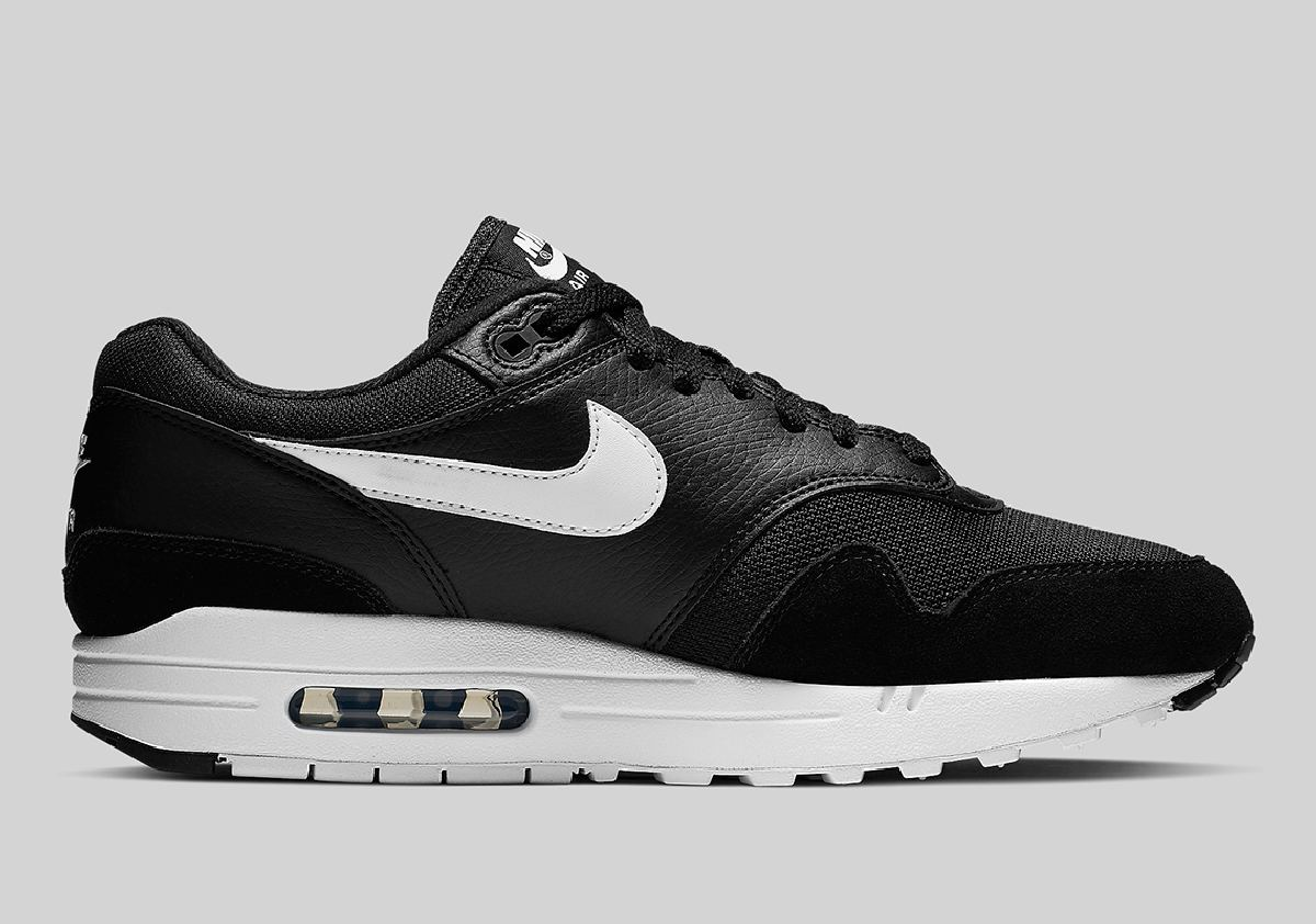 Nike Air Max 1 Zwart Heren Ah8145 014 9