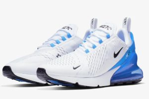 Nike Air Max 270 Heren Wit Ah8050 110 Witte Sneakers Heren