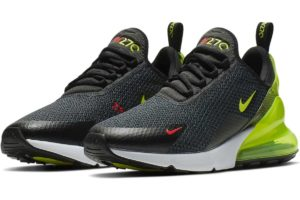 Nike Air Max 270 Heren Zwart Aq9164 005 Zwarte Sneakers Heren