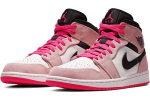nike-jordan air jordan 1-heren-roze-852542-801-roze-sneakers-heren