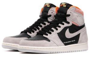 nike-jordan air jordan 1 retro high og-heren-grijs-555088-018-grijze-sneakers-heren