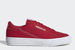 adidas-continental vulc-Unisex-rood-EF3525-rode-sneakers-dames