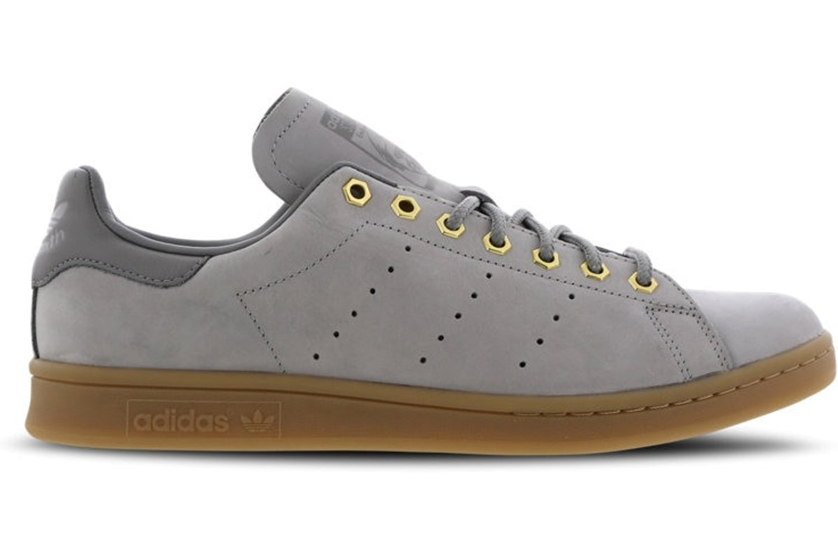 adidas stan smith heren grijs