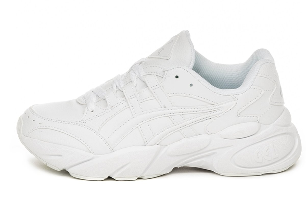 witte asics sneakers dames
