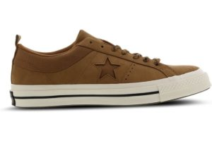 converse-one star-heren-bruin-163813c-bruine-sneakers-heren