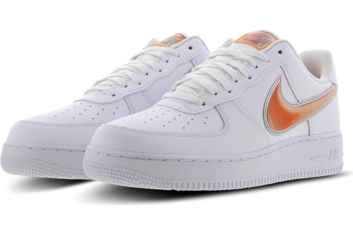 nike air force 1 low heren grijs