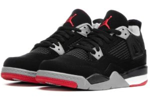 Nike Jordan Air Jordan 4 Retro (ps) Heren Zwart Bq7669 060 Zwarte Sneakers Heren