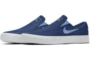 Nike Sb Janoski Slip On Dames,heren Blauw Cn9642 991 Blauwe Sneakers Dames,heren