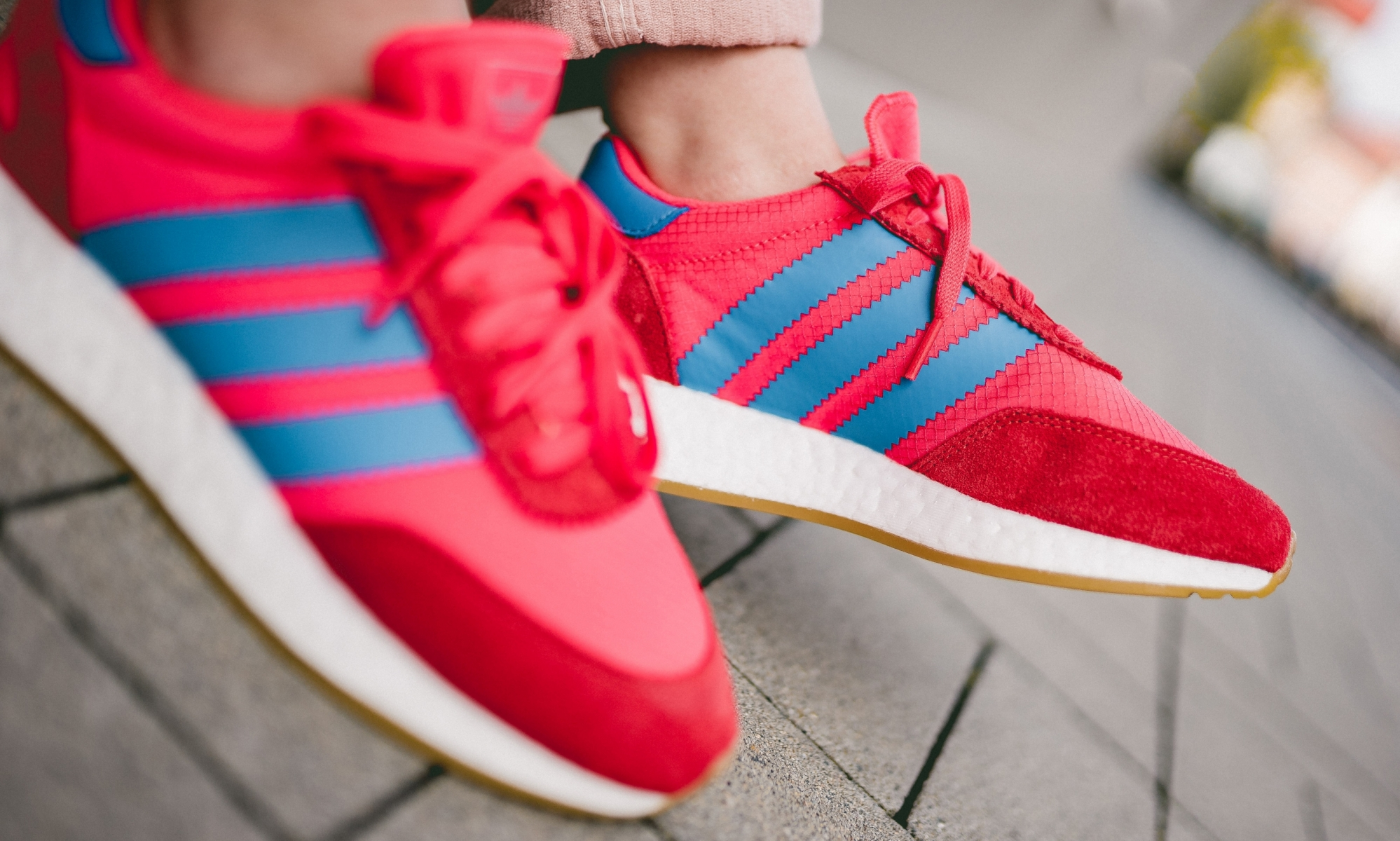 Adidas I 5923 W Red Blue Cg6032 Mood 2