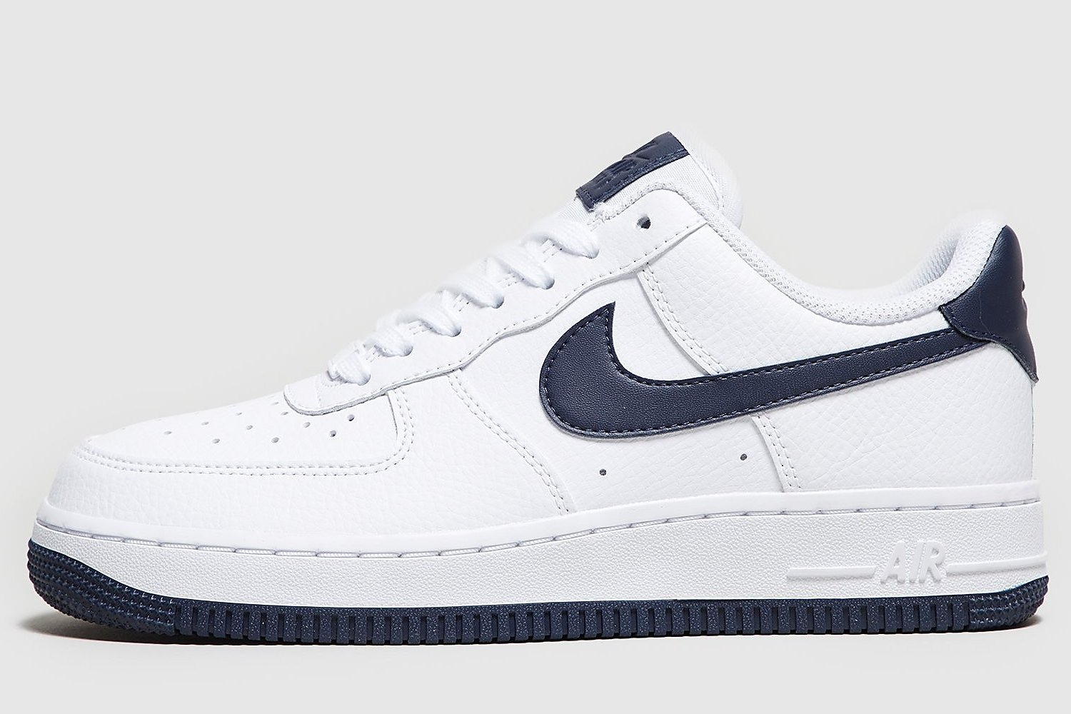 nike air force 1 wit blauw