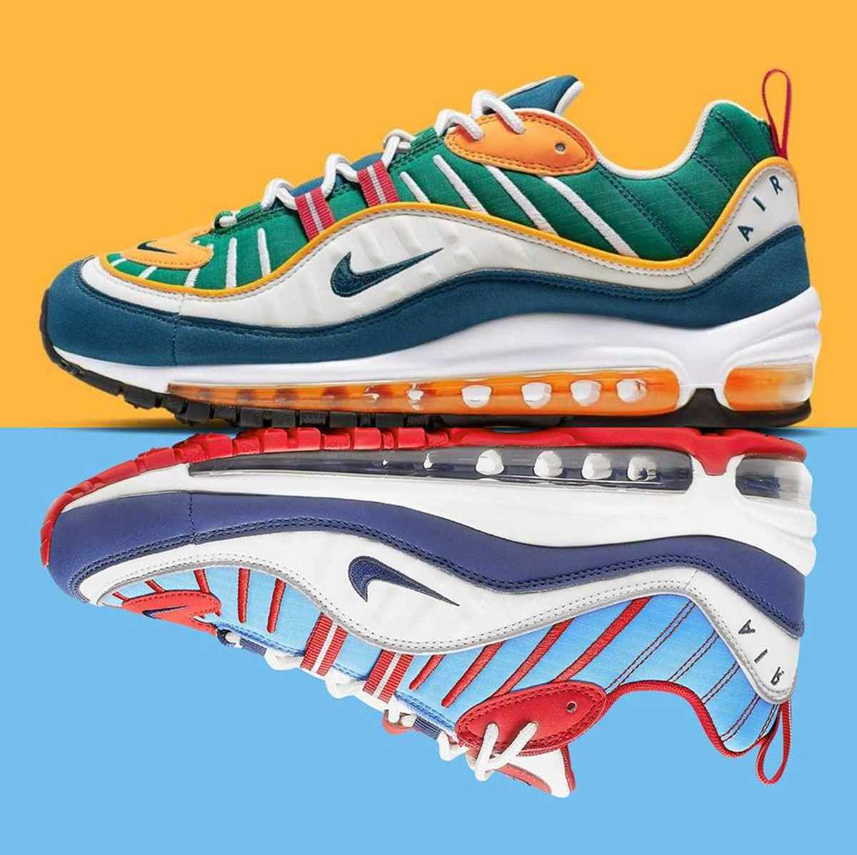 Nike Air Max 98 Dames Ah6799 601 9