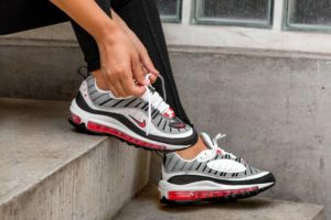 Nike Air Max 98 Wit Dames Ah6799 104 Witte Sneakers Dames