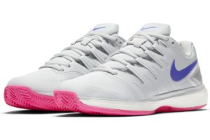 nike-court air zoom-dames-zilver-aa8023-004-zilveren-sneakers-dames