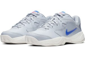 nike-court lite-dames-zilver-cd7134-001-zilveren-sneakers-dames