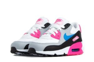 nike-air max 90 leather (ps) pre-school shoe-meisjes