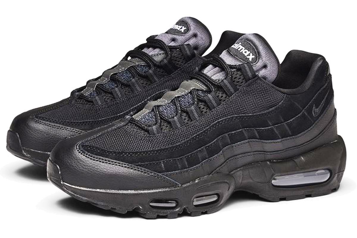 Nike Air Max 95 Heren Zwart At9865 001 Zwarte Sneakers Heren