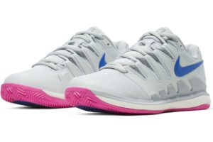 nike-court air zoom-dames-zilver-aa8025-004-zilveren-sneakers-dames