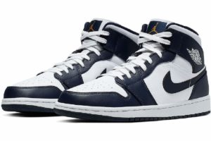 Nike Jordan Air Jordan 1 Wit Dames,heren 554724 174 Witte Sneaker Dames,heren