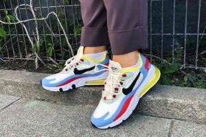 Review + Release: Nike Air Max 270 React Wit Dames