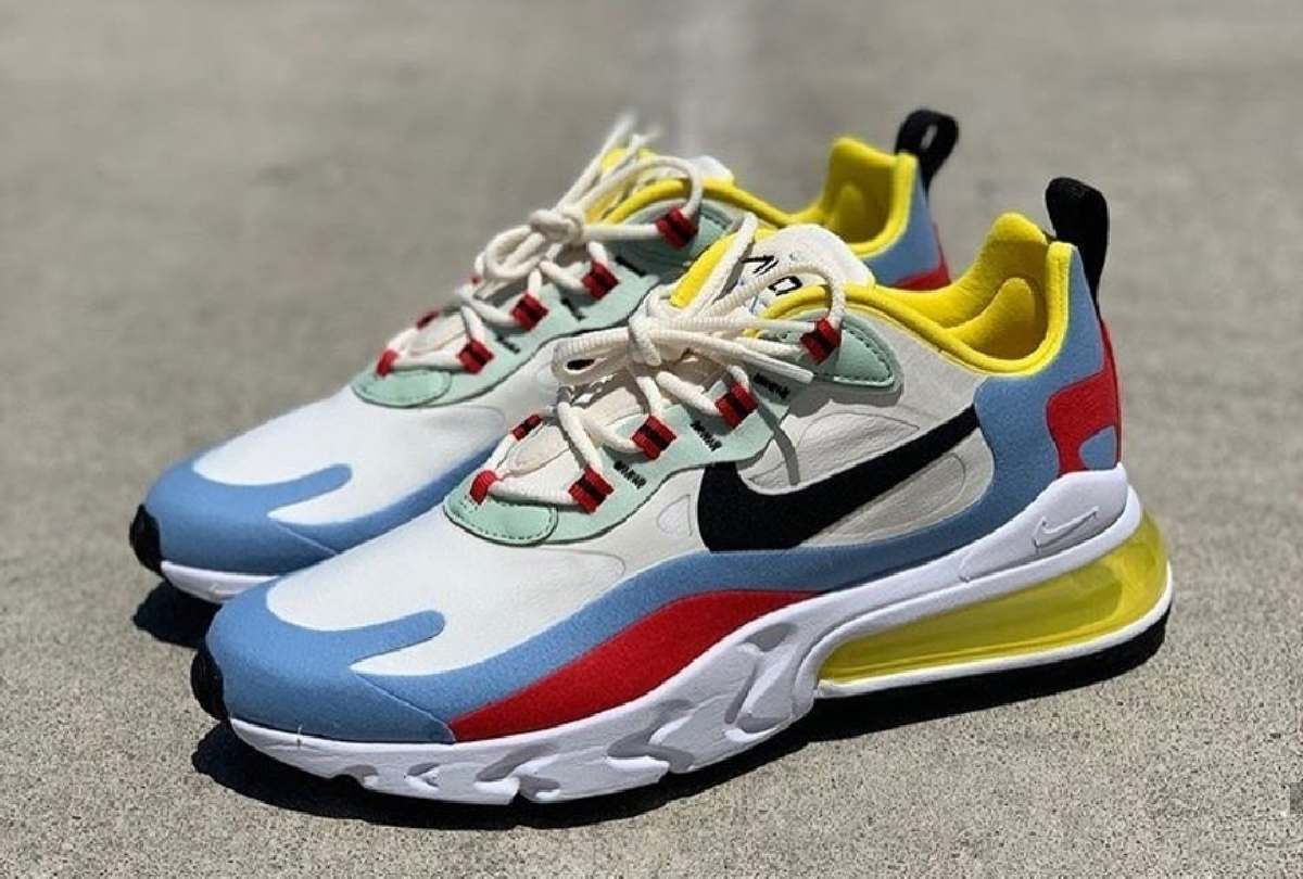 Nike Air Max 270 React Wit Dames At6174 002 11