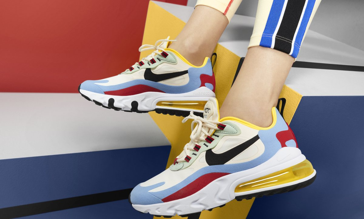 Nike Air Max 270 React Wit Dames At6174 002 13