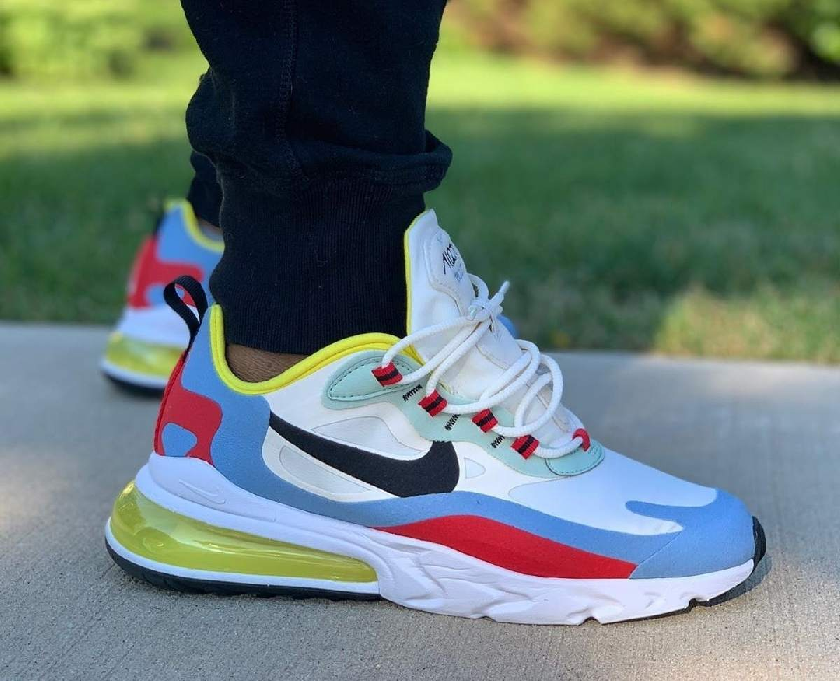 Nike Air Max 270 React Wit Dames At6174 002 2