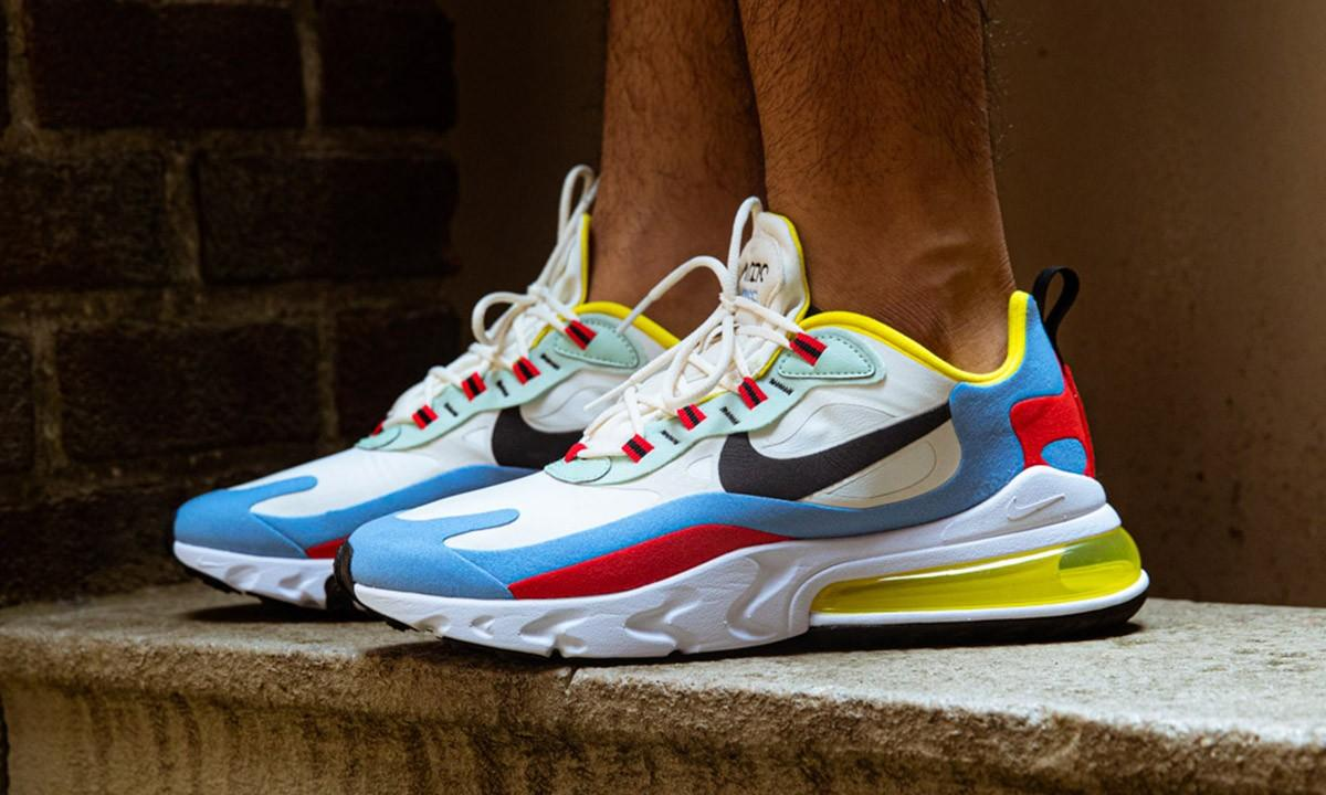 Nike Air Max 270 React Wit Dames At6174 002 3