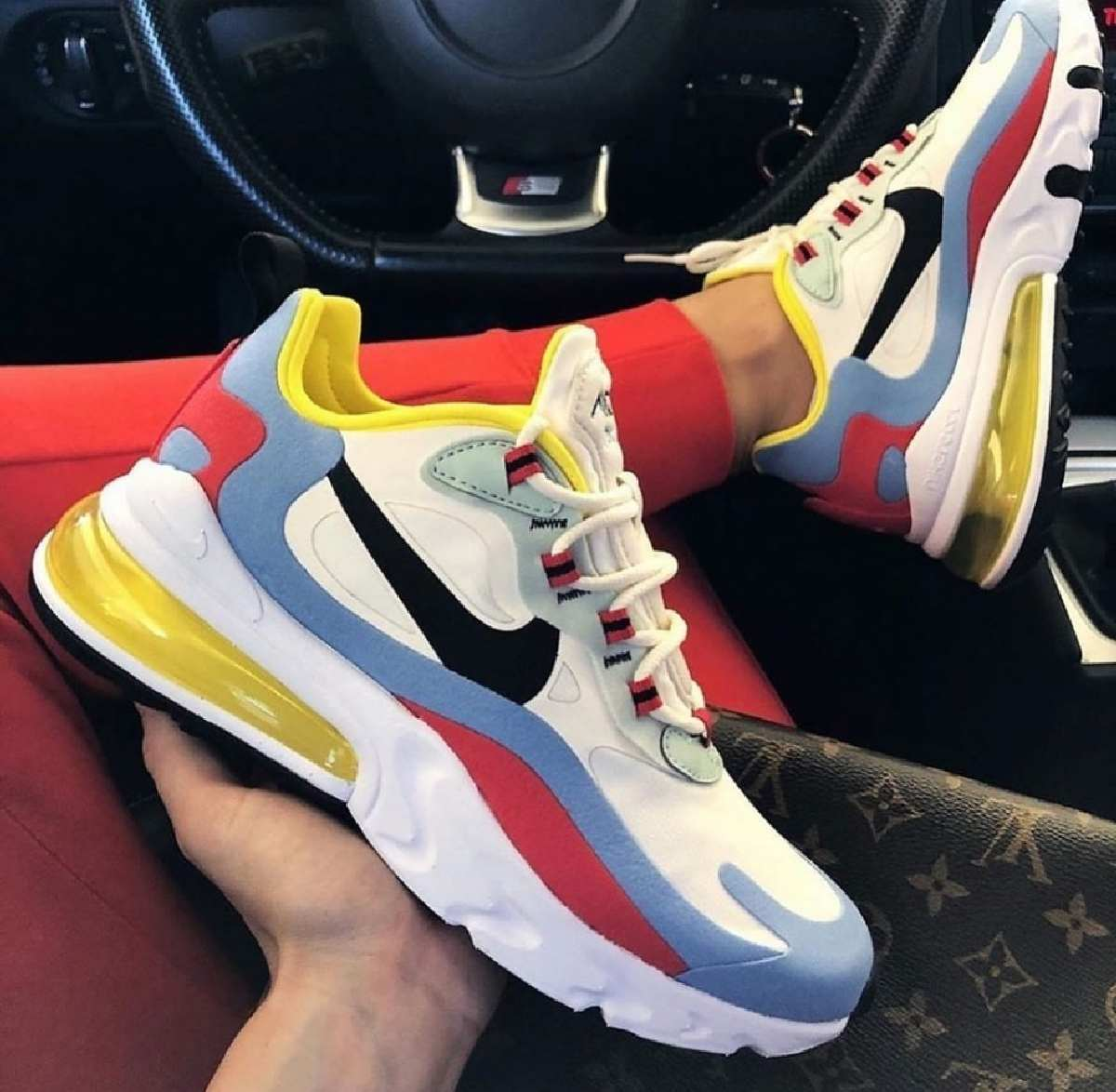 Nike Air Max 270 React Wit Dames At6174 002 9