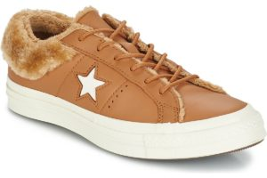 converse-one star-dames-bruin-162603c-bruine-sneakers-dames