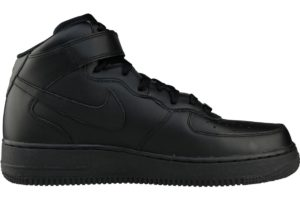 nike-air force 1-heren-zwart-315123-001-zwarte-sneakers-heren