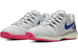 nike-court air zoom-dames-zilver-aa8024-004-zilveren-sneakers-dames