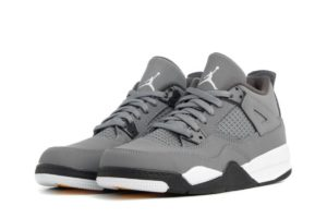 nike-jordan air jordan 4 retro (ps)-heren-grijs-bq7669-007-grijze-sneakers-heren