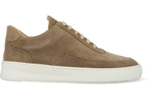 filling pieces-low mondo-dames-bruin-filling pieces low mondo ripple nardo suede off white-bruine-sneakers-dames