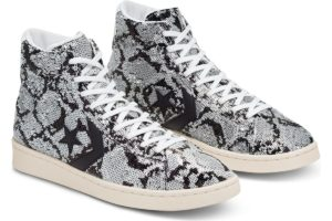 converse-pro leather-heren-zilver-165752c-zilveren-sneakers-heren