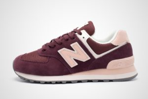 new balance-574-dames-rood-766841-50-4-rode-sneakers-dames