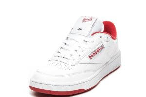 reebok-club c 85-dames-wit-cn3711-witte-sneakers-dames