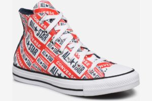 converse-all stars hoog-dames-rood-166984C W-rode-sneakers-dames