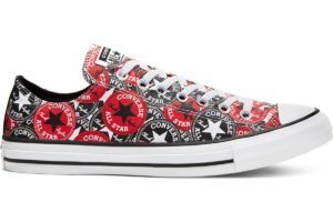 converse-all stars laag-dames-rood-166986c-rode-sneakers-dames