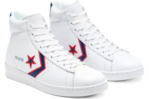 converse-pro leather-dames-wit-167058c-witte-sneakers-dames