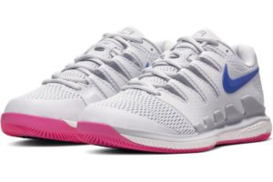 nike-court air zoom-dames-zilver-aa8027-004-zilveren-sneakers-dames