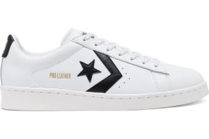 converse-pro leather-dames-wit-167237c-witte-sneakers-dames