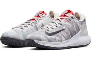 nike-court air zoom-dames-zilver-aa8022-004-zilveren-sneakers-dames